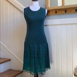 Jigsaw Cotton and Silk Floral Dress